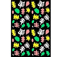 Paradise Tropic black Photographic Print