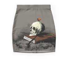 Death & The Butterfly Mini Skirt