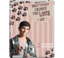 My Teenwolfed Valentine [I Know You Love Me II] iPad Case/Skin
