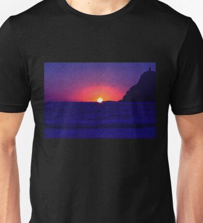 Sunset at Port Erin Unisex T-Shirt