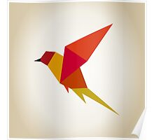 Bird abstraction Poster