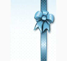Turquoise Present Bow Unisex T-Shirt