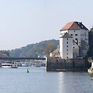 A Passau Pano in Four. by Larry Lingard-Davis