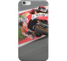 Silverstone MotoGP - Marquez iPhone Case/Skin