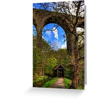 Under the Viaduct Greeting Card