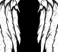 Daryl Dixon Wings - Zombie Sticker