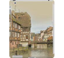 Little France, Strasbourg iPad Case/Skin