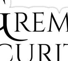 Gremlin Security - T-Shirts and Hoodies Sticker