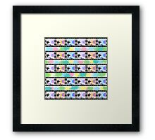 Movies and colors Framed Print