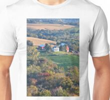 Valley Farm Portrait 2 Unisex T-Shirt