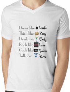 Gilmore girls- Best qualities Mens V-Neck T-Shirt