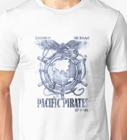 Pacific Pirates Unisex T-Shirt