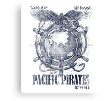 Pacific Pirates Canvas Print