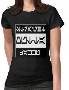 Straight Outta Jakku Womens Fitted T-Shirt