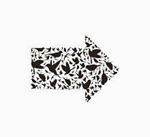 Bird arrow Unisex T-Shirt