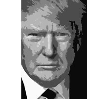 Trump Cutout Photographic Print