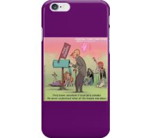 Fred Zeppelin iPhone Case/Skin