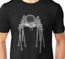 Scary Spider white Unisex T-Shirt