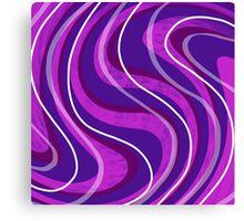 Swirly Pinks n Purples Canvas Print