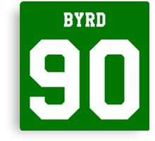 Byrd 90 Canvas Print