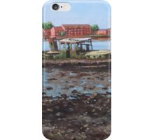 Boat wreck at Bitterne Manor Park iPhone Case/Skin