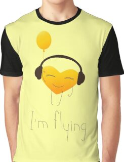 Flying heart Graphic T-Shirt