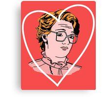 I Heart Barb Canvas Print