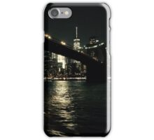 Brooklyn Bridge by Night iPhone Case/Skin