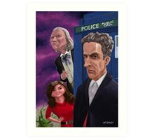 The Twelfth Doctor Who Art Print