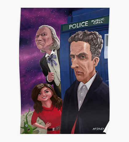 The Twelfth Doctor Who Poster