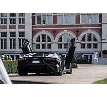 Lamborghini Aventador SuperVeloce Photographic Print