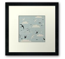 Bird in the sky Framed Print
