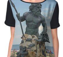 King Neptune Chiffon Top