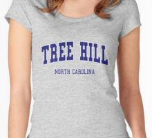 ONE TREE HILL COLLEGE STYLE Women's Fitted Scoop T-Shirt