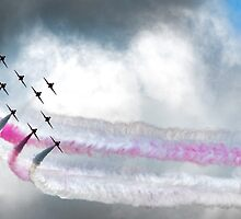 The Red Arrows by M-Pics