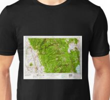 USGS TOPO Map California CA Chico 299745 1958 250000 geo Unisex T-Shirt