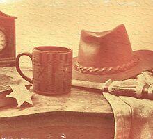 """'Bout Ready, Sheriff?"" by © Bob Hall"