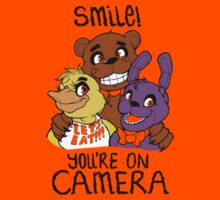 Smile at Freddy Fazbear's Pizza! Shirt/Hoodie/Sticker by CorgiKnight
