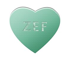 Zef Candy Heart - Mint by LozMac