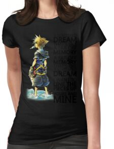 A Scattered Dream Womens Fitted T-Shirt