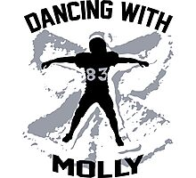 Wes Welker - Dancing With Molly - Denver Broncos Photographic Print