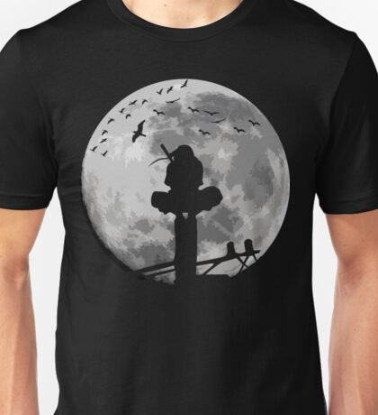 Fighter On The Moon Unisex T-Shirt
