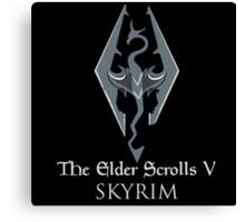The Elder Scrolls V: Skyrim Canvas Print