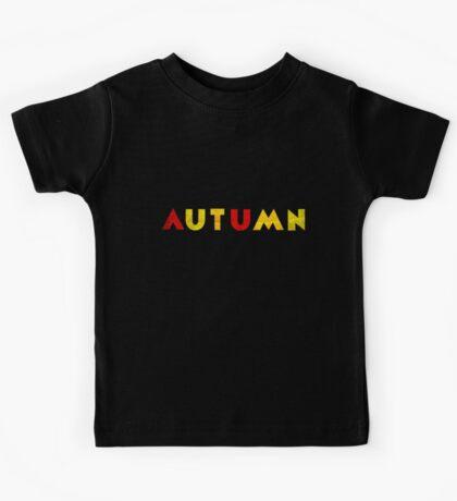 Autumn Kids Tee