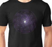 Sacred Geometry: Flower of Life III - Cosmos Unisex T-Shirt