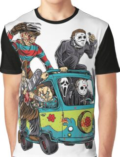 The Massacre Machine Horror Graphic T-Shirt