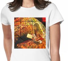 A Corner of the Garden Womens Fitted T-Shirt