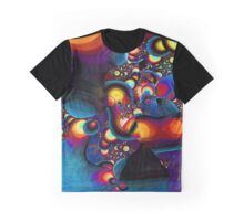 Geometric colorful abstract bird Graphic T-Shirt