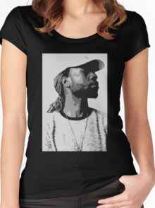 PARTYNEXTDOOR Women's Fitted Scoop T-Shirt