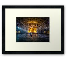 Empty Theatre Framed Print